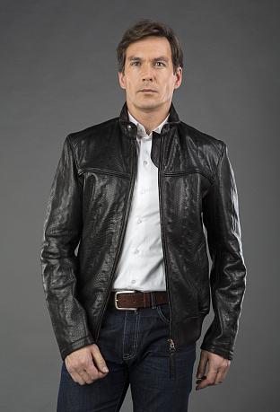 8347232d866 Купить кожаную мужскую куртку в интернет магазине ПокупкаЛюкс СПб