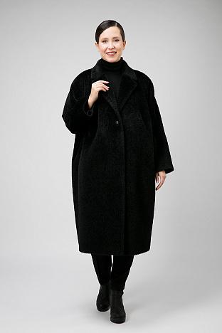38d8b3b5227 Женское пальто для весны с английским воротником. Товар добавлен в корзину.  В корзину. E245 03 - черный